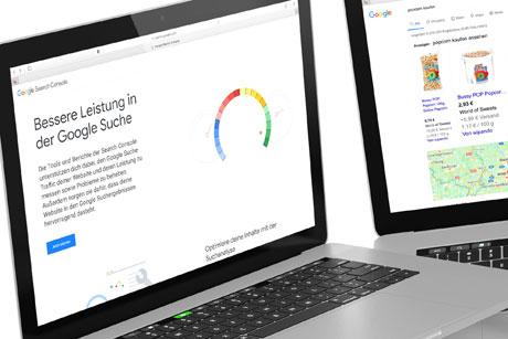 Suchmaschinenwerbung (SEA) Platz 1 auf Google Seite 1 Online Marketing Düsseldorf
