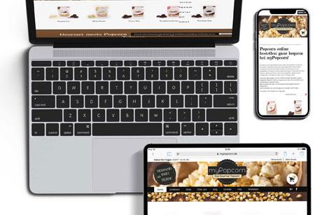 Online Shop Responsivität Agentur Düsseldorf